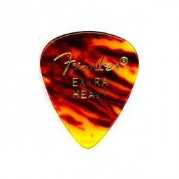 Fender 351 SHAPE PICKS 1 GROSS SHELL EXTRA HEAVY Медиаторы